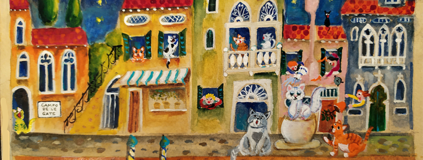 Venice Cats com venicecatscom Michal Meron_cat serenade_1