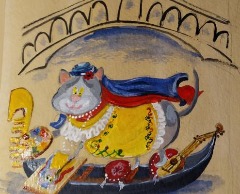 VeniceCatscom_Venice_Cats_Cat_Of_The_Week_Artemisia Gentileschi_Cat